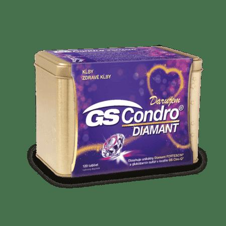 GS Condro Diamant 120 tabliet - darček 2019