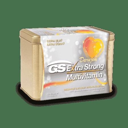 GS Extra Strong Multivitamín, 60+60 tabliet (120 ks) - darček 2019