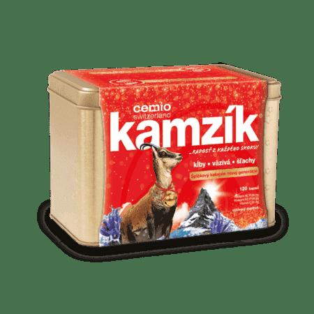 Cemio Kamzík, 120 kapsúl - darček 2019
