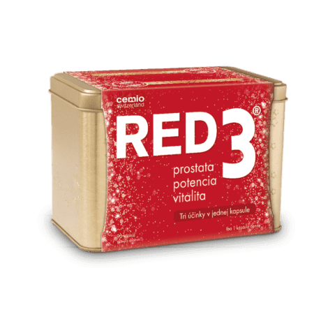 Cemio RED3, 90 kapsúl - darček 2019