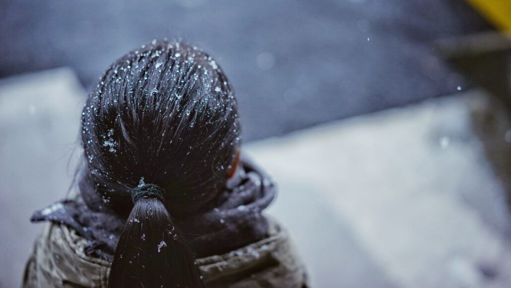 Zdravé vlasy - vplyv chladného počasia