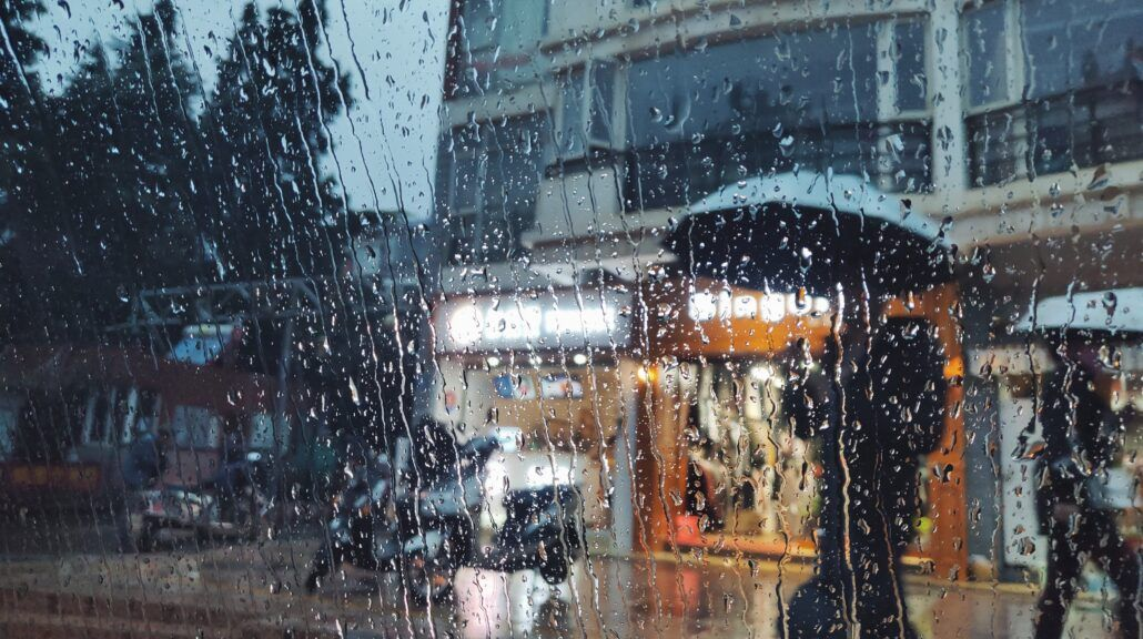 Meteosenzitivita - daždivé počasie za sklom
