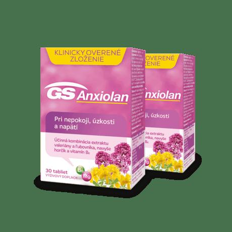 GS Anxiolan, 2 x 30 tabliet