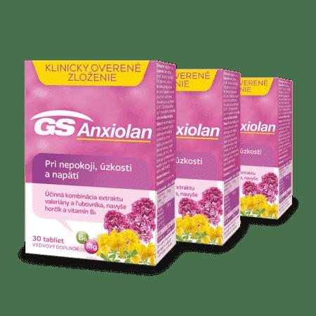 GS Anxiolan, 3 x 30 tabliet
