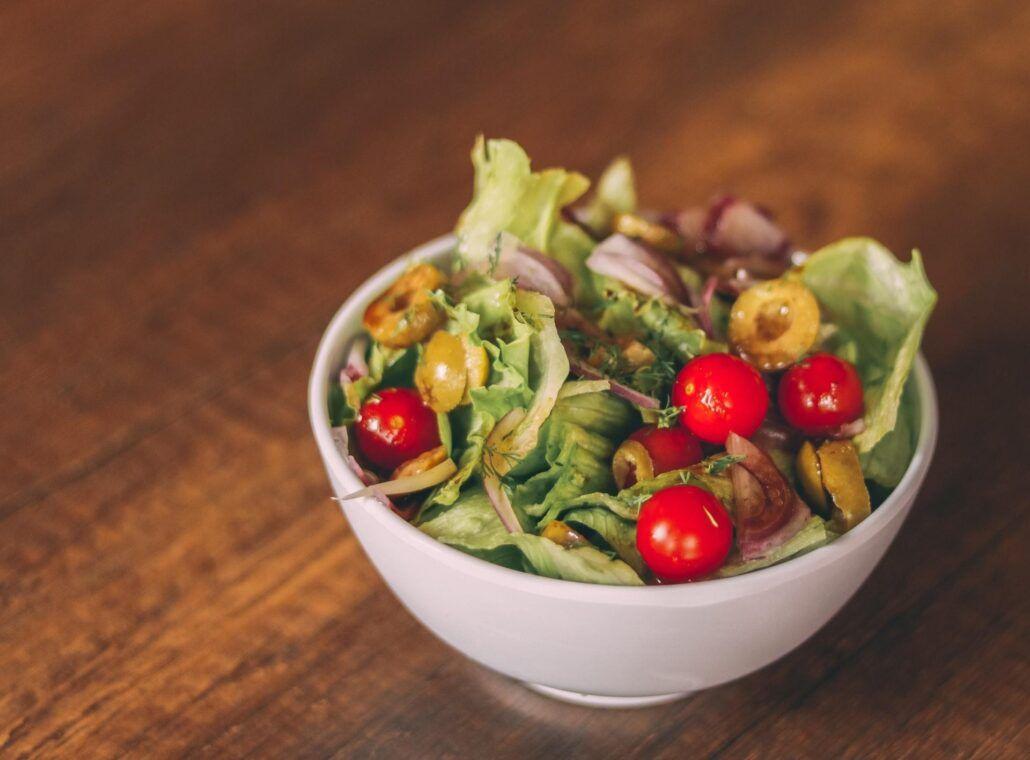 Bojujete s chuťami - zdravý šalát