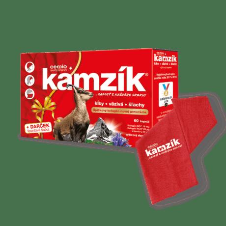 Cemio Kamzík, 60 kapsúl  + darček