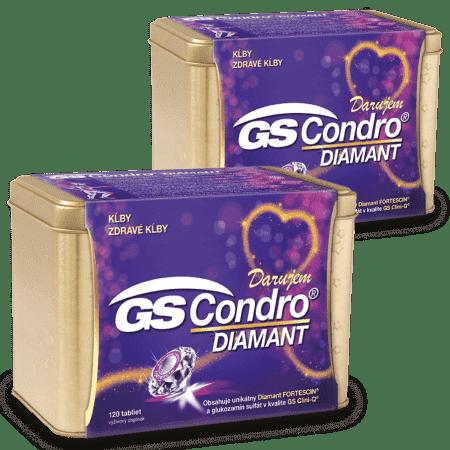 GS Condro Diamant, 2 x 120 tabliet ( 240 ks ) - darček 2019