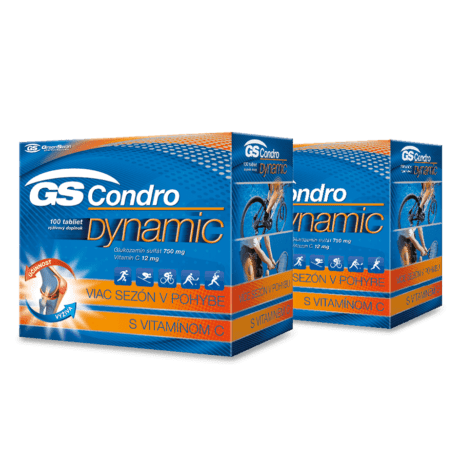 GS Condro® DYNAMIC, 2 x 100 tabliet (200 ks)