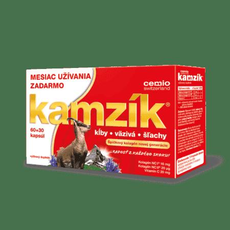 Cemio Kamzík, 60 + 30 kapsúl - limitovaná edícia Leto 2020