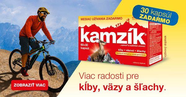 Cemio Kamzík Limitovaná edícia 60+30 zadarmo banner mobil