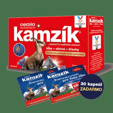 Cemio Kamzík 60 kapsúl + 30 kapsúl zadarmo