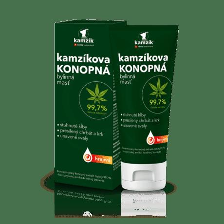Cemio Kamzíkova konopná bylinná masť hrejivá, 200 ml