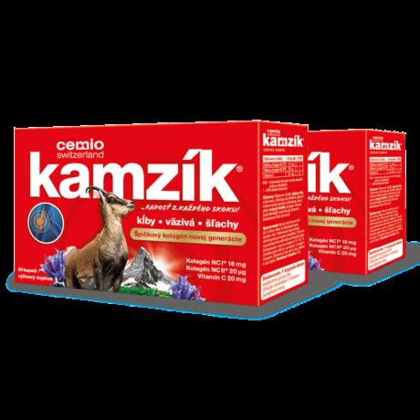 Cemio Kamzík®, 2 x 60 kapsúl