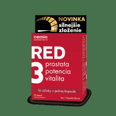 Cemio RED3® silnejšie zloženie, 30 kapsúl