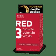 Cemio RED3® silnejšie zloženie, 60 kapsúl