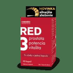 Cemio RED3® silnejšie zloženie, 90 kapsúl