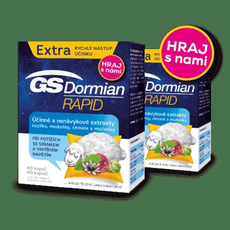 GS Dormian Rapid, 2 x 40 kapsúl - súťaž