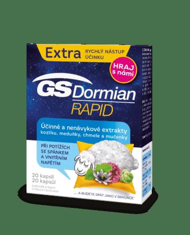 GS Dormian Rapid, 20 kapsúl - súťaž
