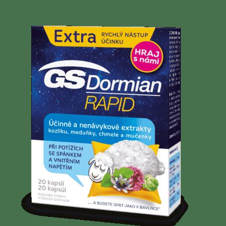 GS Dormian Rapid, 20 kapsúl