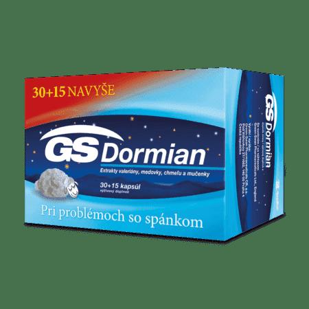 GS Dormian, 30 + 15 kapsúl