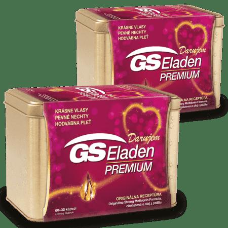 GS Eladen PREMIUM, 2 x 90 kapsúl (180 ks) - darček 2019