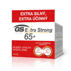 GS Extra Strong 65+, 60 tabliet a 60 kapsúl