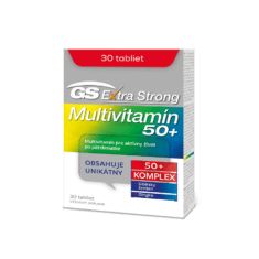 GS Extra Strong Multivitamín 50+, 30 tabliet