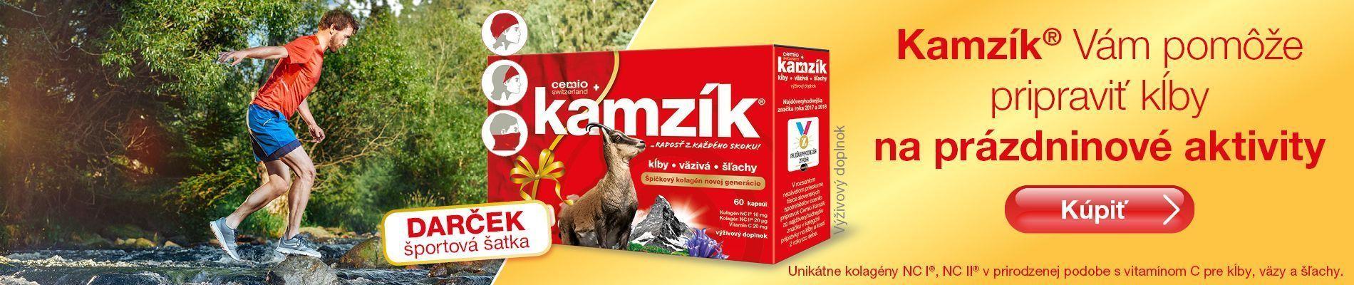 Cemio Kamzík + športová šatka