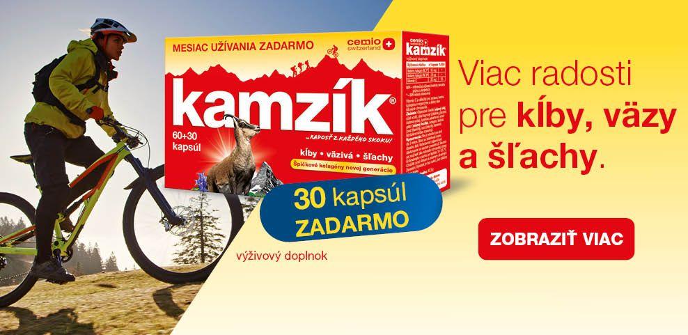 Cemio Kamzík Limitovaná edícia 60+30 zadarmo banner