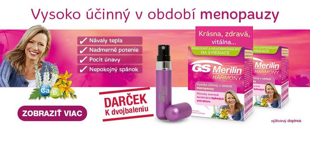 Výhodné dvojbalenie GS Merilin Harmony + flakón na parfém - banner HP