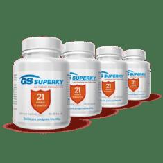 GS Superky Laktobacily a bifidobaktérie, 320 kapsúl