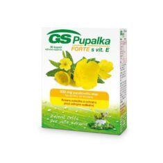 GS Pupalka FORTE s vitamínom E, 30 kapsúl