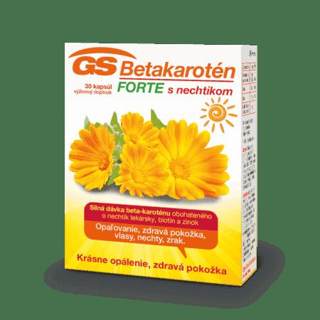 GS Betakarotén FORTE s nechtíkom, 30 kapsúl