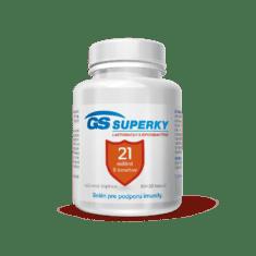 GS Superky Laktobacily a bifidobaktérie, 60 + 20 kapsúl