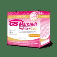 GS Mamavit Prefolin+DHA s horčíkom, 30 tabliet + 30 kapsúl