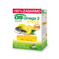 GS Omega 3 CITRUS, 100 + 50 kapsúl