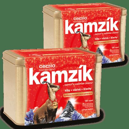 Cemio Kamzík, 2x 120 kapsúl (240ks) - darček 2019