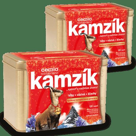 Cemio Kamzík, 2 x 120 kapsúl (240ks) - darček 2019