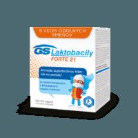 GS Laktobacily FORTE 21, 60 + 20 kapsúl