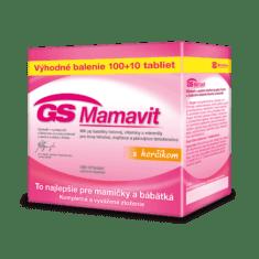 GS Mamavit s horčíkom, 100 + 10 tabliet