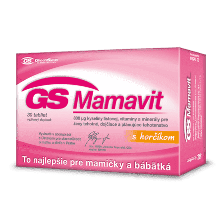 GS Mamavit, 30 tabliet