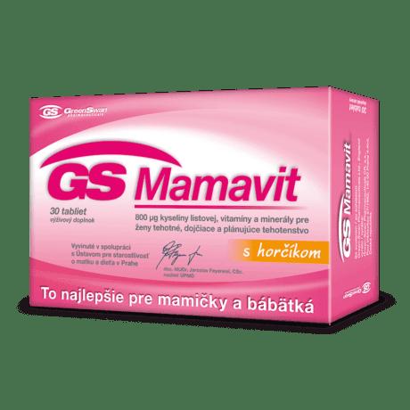 GS Mamavit, 30 tabliet