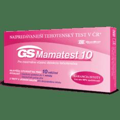 GS Mamatest 10 Tehotenský test, 2 ks