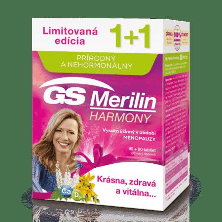 GS Merilin Harmony, 90+90 tabliet (180 ks) darček 2018