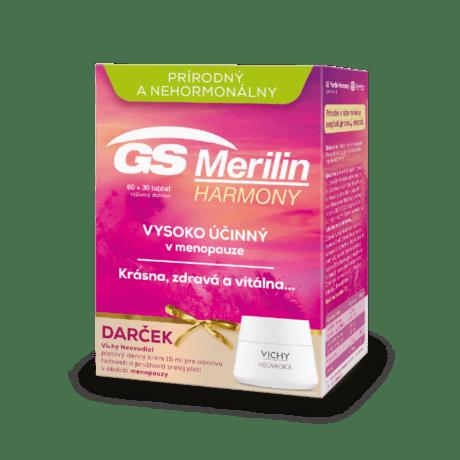 GS Merilin Harmony, 60 + 30 tabliet + darček VICHY Neovadiol 15 ml