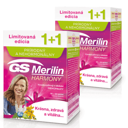 GS Merilin Harmony, 2 x 180 tabliet ( 360 ks ) - darček 2019