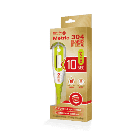 Cemio Metric 304 Rapid Flex, digitálny teplomer
