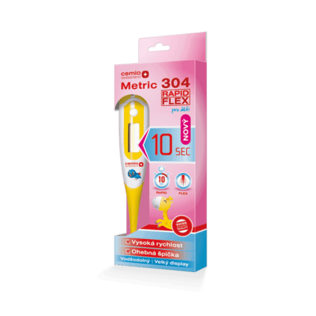 Cemio Metric 304 Rapid Flex, pre deti,  digitálny teplomer