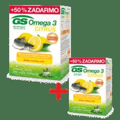 GS Omega 3 CITRUS, 150 kapsúl + GS Omega 3 CITRUS, 90 kapsúl