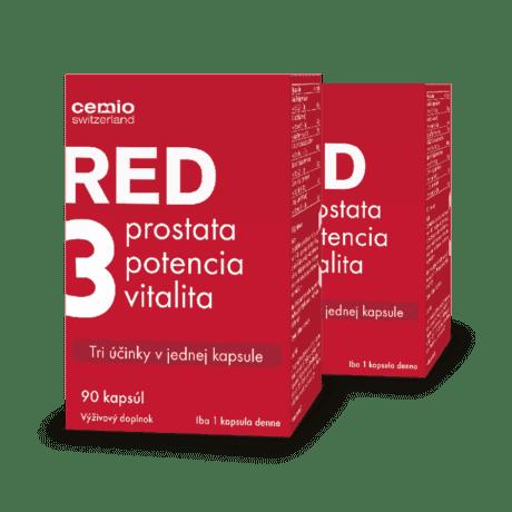 Cemio RED3 ®, 2 x 90 kapsúl - výhodné dvojbalenie